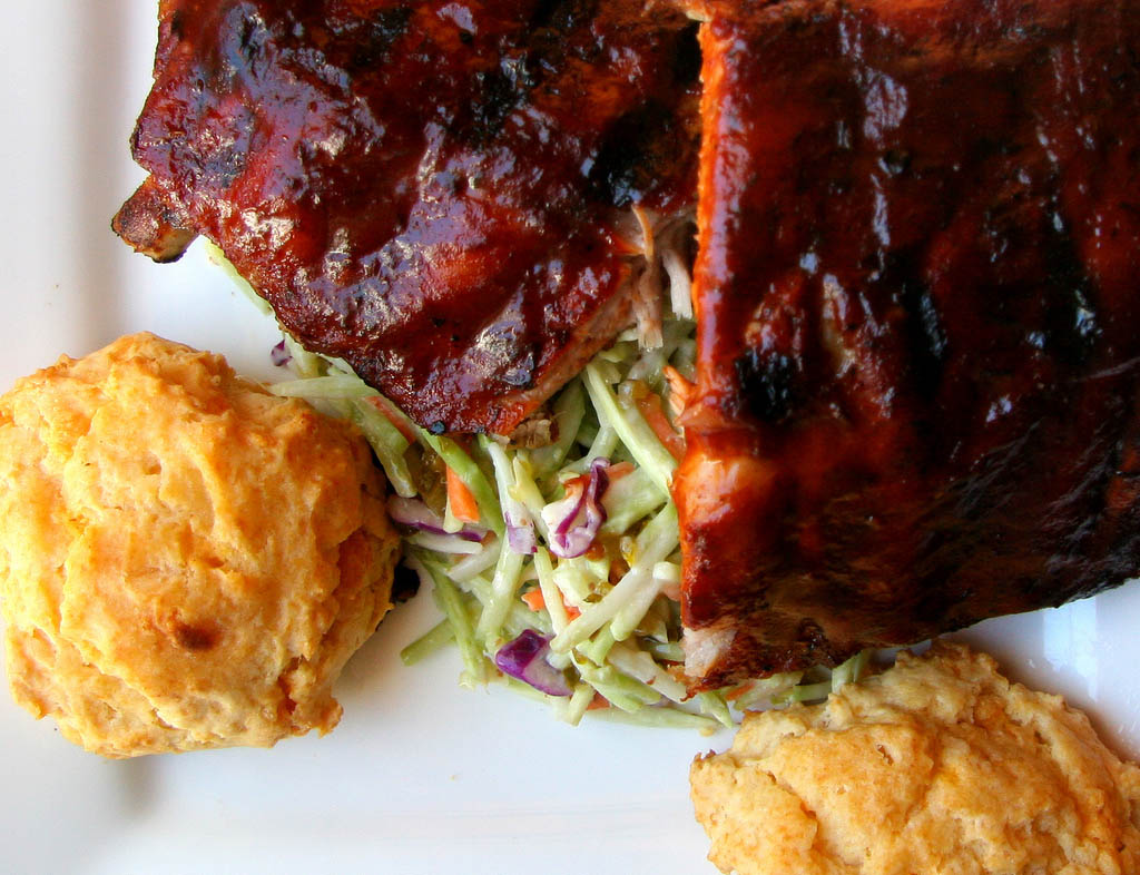c) JSP_ribs and slaw