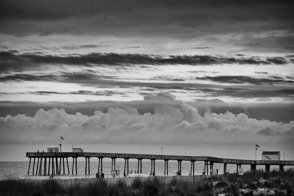 (c)JerseyStyle_Photography_OC Pier_BW_082013_MG_0566
