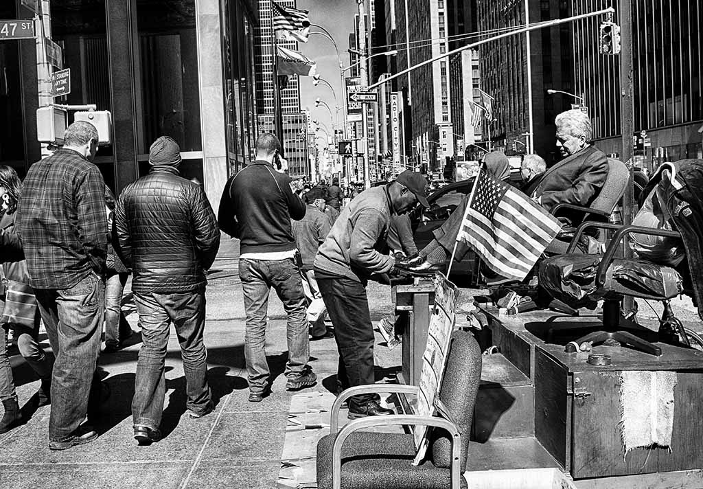 (c)JerseyStyle Photography_Shoe Shine _bw_3482