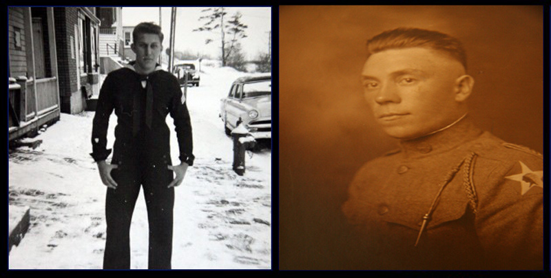 Dad, U.S. Coast Guard - Grandfather, U.S. Army