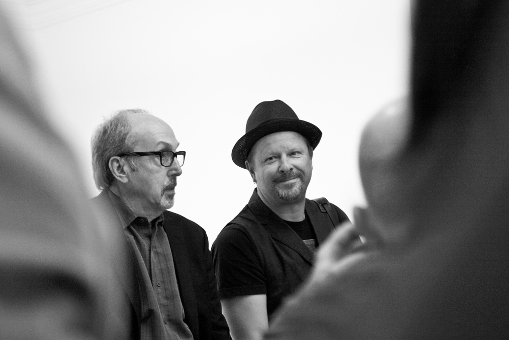 Danny Clinch and Barry Schneier