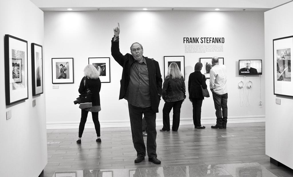 Frank Stefanko, who shot the Darkness On The Edge Of Town album cover.