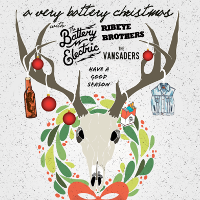 A Very Battery Christmas poster