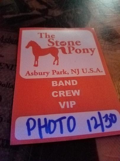 the Stone pony photo pass