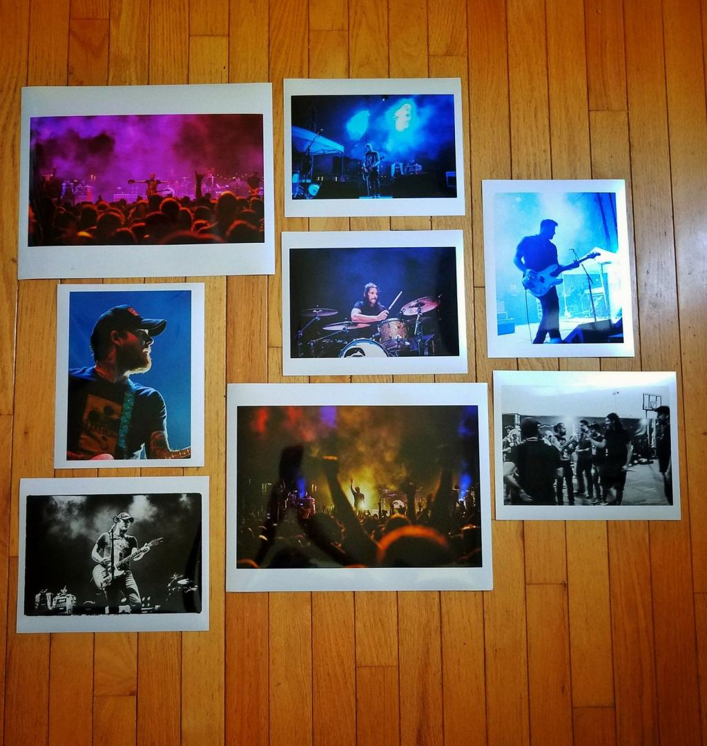 Gaslight Anthem prints_082018