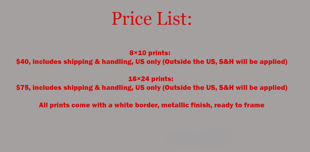 Cyber Monday_Prints Price List