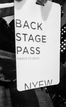 BJFS backstage pass